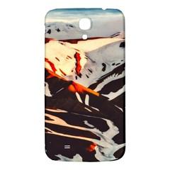 Iceland Landscape Mountains Snow Samsung Galaxy Mega I9200 Hardshell Back Case