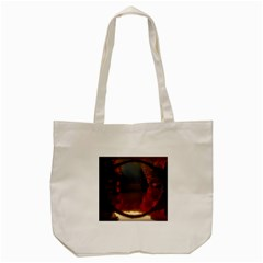 River Water Reflections Autumn Tote Bag (cream)