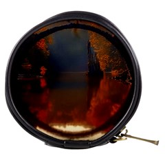 River Water Reflections Autumn Mini Makeup Bags