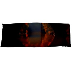 River Water Reflections Autumn Body Pillow Case (dakimakura) by BangZart