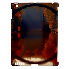 River Water Reflections Autumn Apple Ipad 3/4 Hardshell Case (compatible With Smart Cover) by BangZart