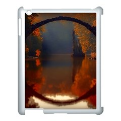 River Water Reflections Autumn Apple Ipad 3/4 Case (white)
