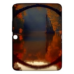 River Water Reflections Autumn Samsung Galaxy Tab 3 (10 1 ) P5200 Hardshell Case