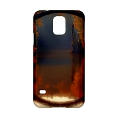 River Water Reflections Autumn Samsung Galaxy S5 Hardshell Case  by BangZart