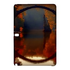 River Water Reflections Autumn Samsung Galaxy Tab Pro 12 2 Hardshell Case