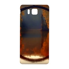 River Water Reflections Autumn Samsung Galaxy Alpha Hardshell Back Case by BangZart