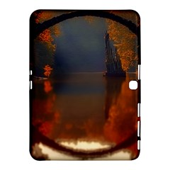 River Water Reflections Autumn Samsung Galaxy Tab 4 (10 1 ) Hardshell Case
