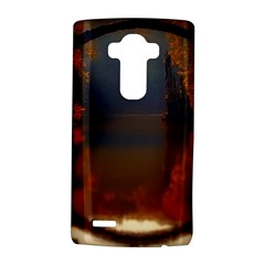 River Water Reflections Autumn Lg G4 Hardshell Case by BangZart