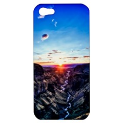 Iceland Landscape Mountains Stream Apple Iphone 5 Hardshell Case