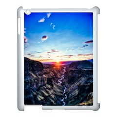 Iceland Landscape Mountains Stream Apple Ipad 3/4 Case (white)