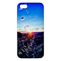 Iceland Landscape Mountains Stream Apple Iphone 5 Premium Hardshell Case