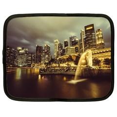Singapore City Urban Skyline Netbook Case (xl)