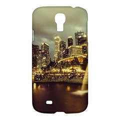 Singapore City Urban Skyline Samsung Galaxy S4 I9500/i9505 Hardshell Case