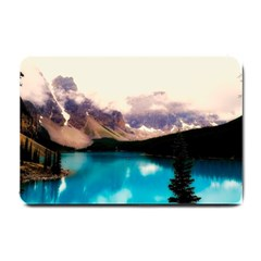 Austria Mountains Lake Water Small Doormat
