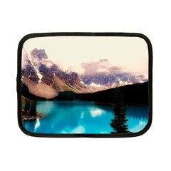 Austria Mountains Lake Water Netbook Case (small)