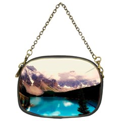 Austria Mountains Lake Water Chain Purses (two Sides)