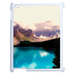 Austria Mountains Lake Water Apple Ipad 2 Case (white)