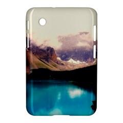 Austria Mountains Lake Water Samsung Galaxy Tab 2 (7 ) P3100 Hardshell Case
