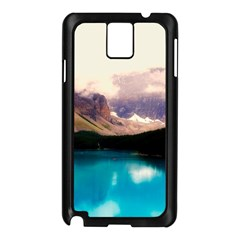 Austria Mountains Lake Water Samsung Galaxy Note 3 N9005 Case (black)