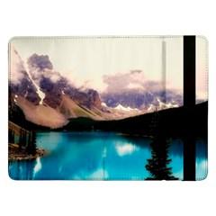 Austria Mountains Lake Water Samsung Galaxy Tab Pro 12 2  Flip Case