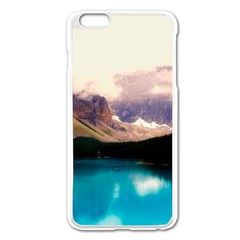Austria Mountains Lake Water Apple Iphone 6 Plus/6s Plus Enamel White Case by BangZart