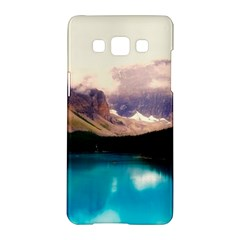 Austria Mountains Lake Water Samsung Galaxy A5 Hardshell Case