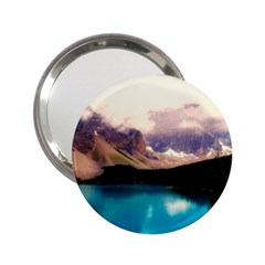 Austria Mountains Lake Water 2 25  Handbag Mirrors