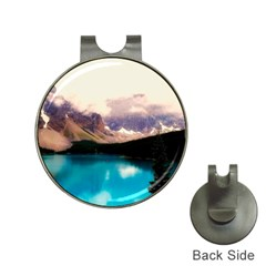 Austria Mountains Lake Water Hat Clips With Golf Markers