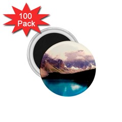 Austria Mountains Lake Water 1 75  Magnets (100 Pack)