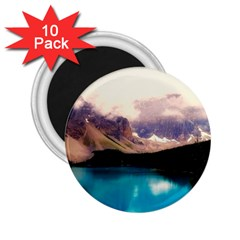 Austria Mountains Lake Water 2 25  Magnets (10 Pack)  by BangZart