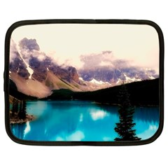 Austria Mountains Lake Water Netbook Case (large) by BangZart