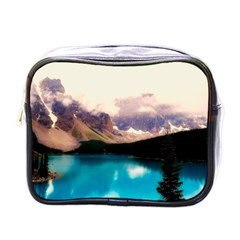 Austria Mountains Lake Water Mini Toiletries Bags