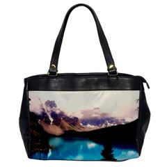 Austria Mountains Lake Water Office Handbags