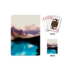 Austria Mountains Lake Water Playing Cards (mini)