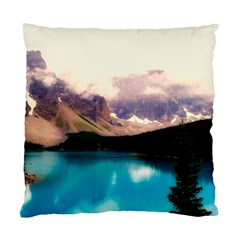 Austria Mountains Lake Water Standard Cushion Case (one Side) by BangZart