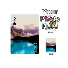 Austria Mountains Lake Water Playing Cards 54 (mini)