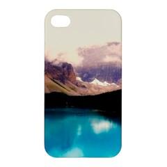 Austria Mountains Lake Water Apple Iphone 4/4s Premium Hardshell Case