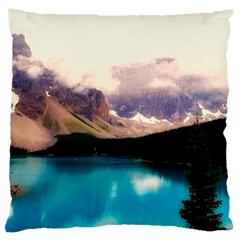 Austria Mountains Lake Water Large Cushion Case (two Sides)