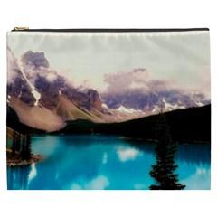 Austria Mountains Lake Water Cosmetic Bag (xxxl)