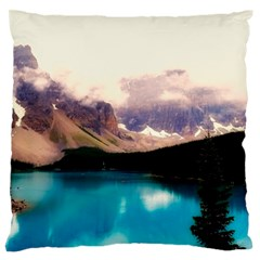 Austria Mountains Lake Water Standard Flano Cushion Case (one Side) by BangZart