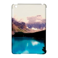 Austria Mountains Lake Water Apple Ipad Mini Hardshell Case (compatible With Smart Cover) by BangZart