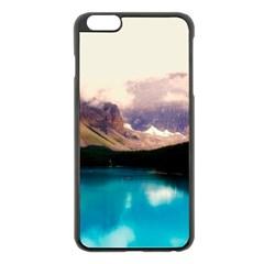 Austria Mountains Lake Water Apple Iphone 6 Plus/6s Plus Black Enamel Case by BangZart