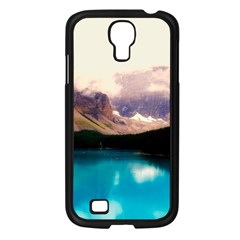 Austria Mountains Lake Water Samsung Galaxy S4 I9500/ I9505 Case (black)