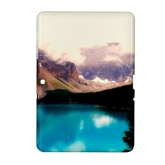 Austria Mountains Lake Water Samsung Galaxy Tab 2 (10 1 ) P5100 Hardshell Case
