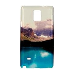 Austria Mountains Lake Water Samsung Galaxy Note 4 Hardshell Case