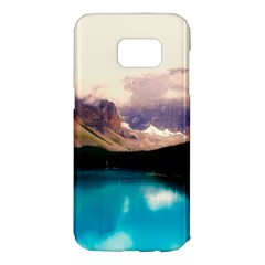 Austria Mountains Lake Water Samsung Galaxy S7 Edge Hardshell Case