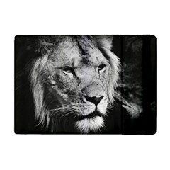 Africa Lion Male Closeup Macro Apple Ipad Mini Flip Case by BangZart
