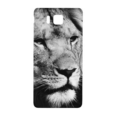 Africa Lion Male Closeup Macro Samsung Galaxy Alpha Hardshell Back Case by BangZart
