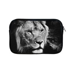 Africa Lion Male Closeup Macro Apple Macbook Pro 13  Zipper Case