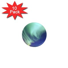 Aurora Borealis Alaska Space 1  Mini Magnet (10 Pack)